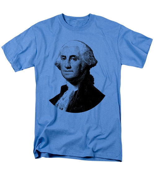 President George Washington Graphic - Black And White - Men's T-Shirt  (Regular Fit)