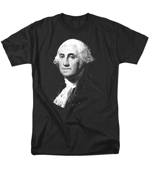 President George Washington Graphic  - Men's T-Shirt  (Regular Fit)