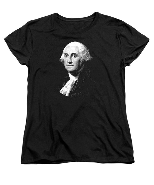 President George Washington Graphic  - Women's T-Shirt (Standard Fit)