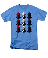 President George Washington - Red, White, And Blue  - Men's T-Shirt  (Regular Fit)