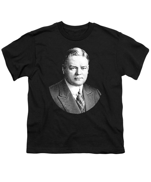 President Herbert Hoover Graphic - Youth T-Shirt