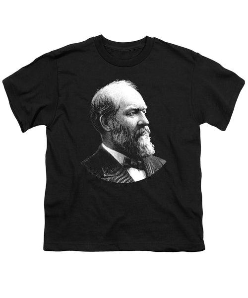 President James Garfield Graphic - Youth T-Shirt