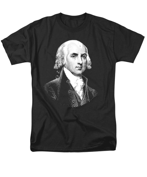President James Madison Graphic - Men's T-Shirt  (Regular Fit)