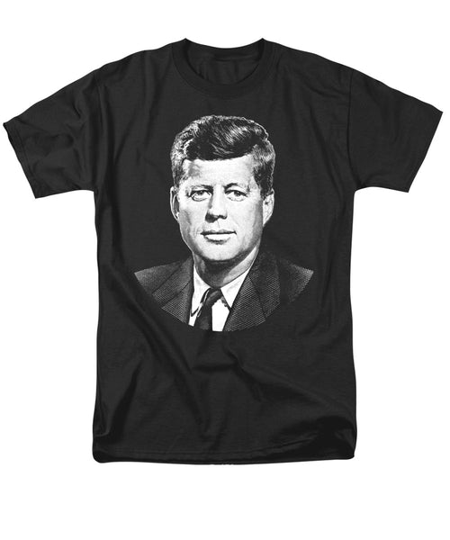 President John F. Kennedy Graphic Men's T-Shirt  (Regular Fit)