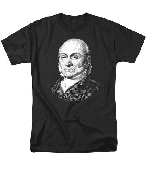 President John Quincy Adams Graphic  - Men's T-Shirt  (Regular Fit)