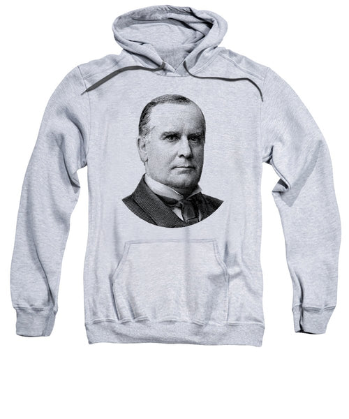 President Mckinley Graphic - Black And White - Sweatshirt