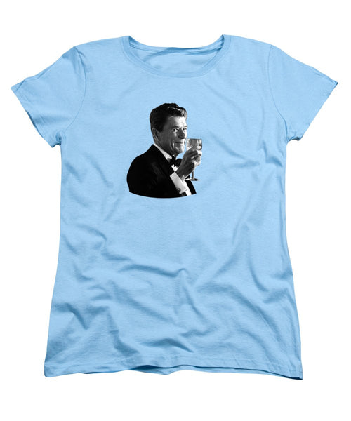 President Reagan Making A Toast - Women's T-Shirt (Standard Fit)