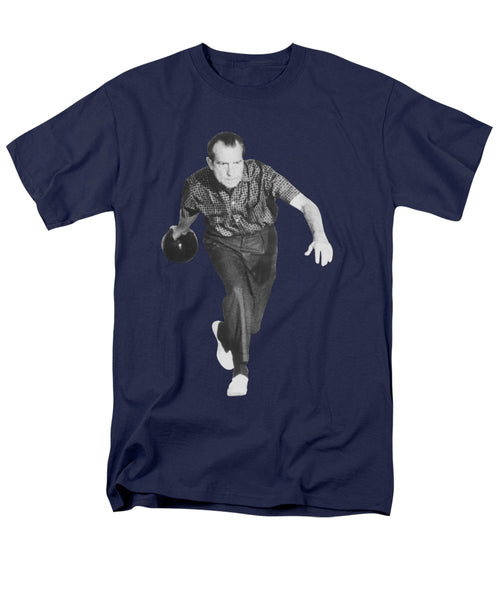 President Richard Nixon Bowling - Men's T-Shirt  (Regular Fit)