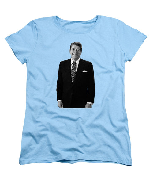 President Ronald Reagan In The Oval Office - Women's T-Shirt (Standard Fit)