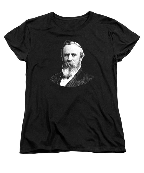 President Rutherford B. Hayes Graphic - Women's T-Shirt (Standard Fit)