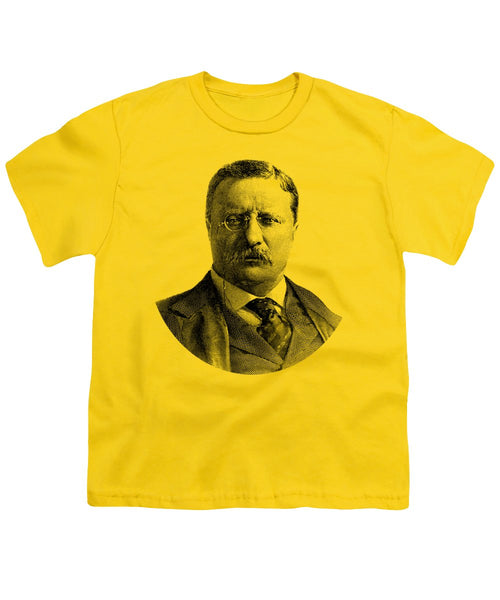 President Theodore Roosevelt Graphic - Youth T-Shirt