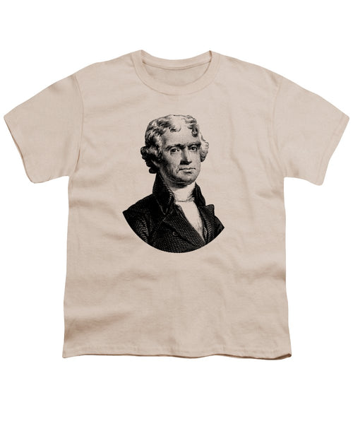 President Thomas Jefferson Graphic - Youth T-Shirt