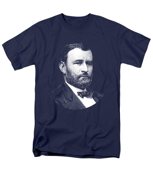 President Ulysses S. Grant Graphic Three - Men's T-Shirt  (Regular Fit)