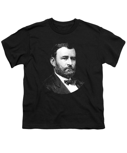 President Ulysses S. Grant Graphic Three - Youth T-Shirt
