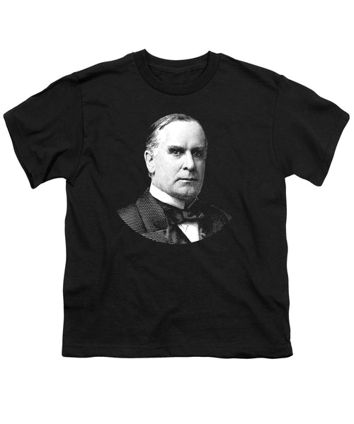 President William Mckinley Graphic - Youth T-Shirt