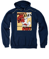 Protect Your Eyes - Maintain A Proper Diet - Sweatshirt