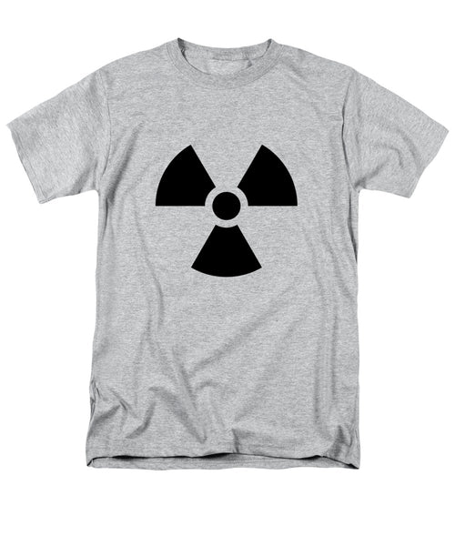 Radiation Hazard Symbol - Men's T-Shirt  (Regular Fit)