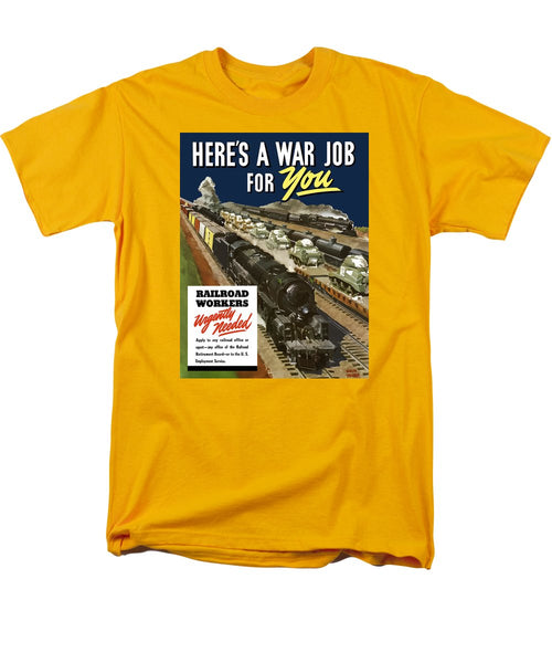 Railroad Workers Urgently Needed - Men's T-Shirt  (Regular Fit)