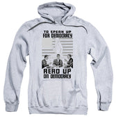 Read Up On Democracy - Vintage WPA - Sweatshirt