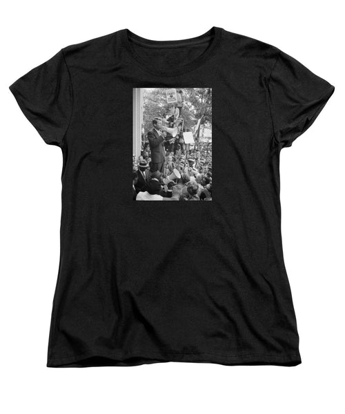 RFK Speaking At Core Rally - Women's T-Shirt (Standard Fit)