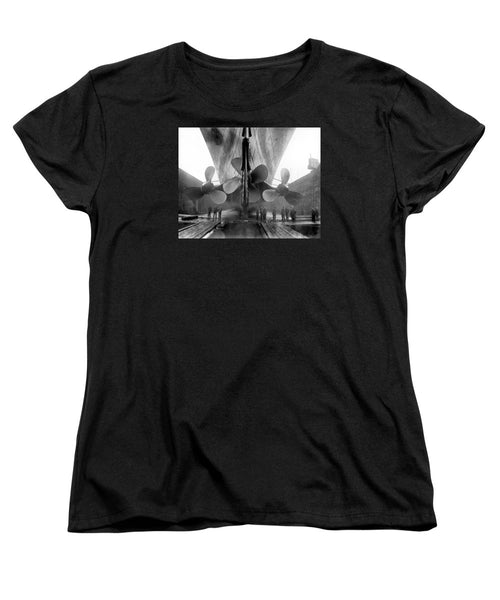 RMS Titanic Propellers - Women's T-Shirt (Standard Fit)