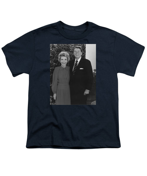 Ronald And Nancy Reagan - Youth T-Shirt
