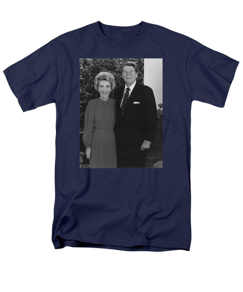 Ronald And Nancy Reagan - Men's T-Shirt  (Regular Fit)