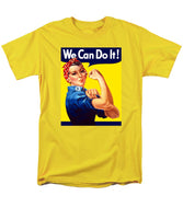 Rosie The Riveter - Men's T-Shirt  (Regular Fit)