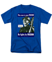 Russian - This Man Is Your Friend - Men's T-Shirt  (Regular Fit)