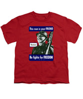 Russian - This Man Is Your Friend - Youth T-Shirt