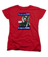Russian - This Man Is Your Friend - Women's T-Shirt (Standard Fit)