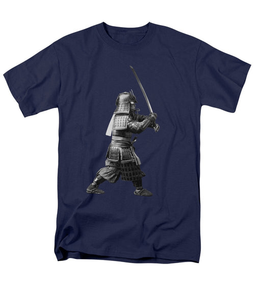 Samurai Brandishing His Sword - Japanese History - Men's T-Shirt  (Regular Fit)