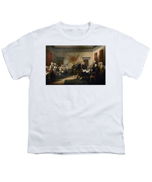 Signing The Declaration Of Independence - Youth T-Shirt