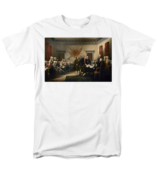 Signing The Declaration Of Independence - Men's T-Shirt  (Regular Fit)