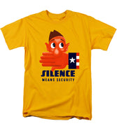 Silence Means Security - Men's T-Shirt  (Regular Fit)