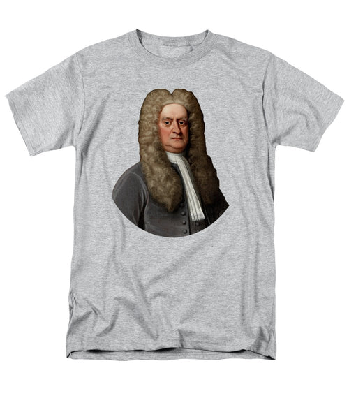 Sir Isaac Newton - Men's T-Shirt  (Regular Fit)