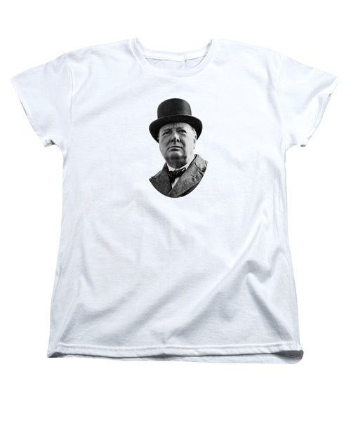 Sir Winston Churchill - Women's T-Shirt (Standard Fit)