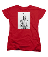 Sitting Bull - Women's T-Shirt (Standard Fit)
