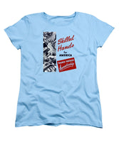 Skilled Hands For America - Trained Through Apprenticeship - Women's T-Shirt (Standard Fit)