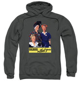Soldiers Without Guns - Women War Workers - WW2  - Sweatshirt