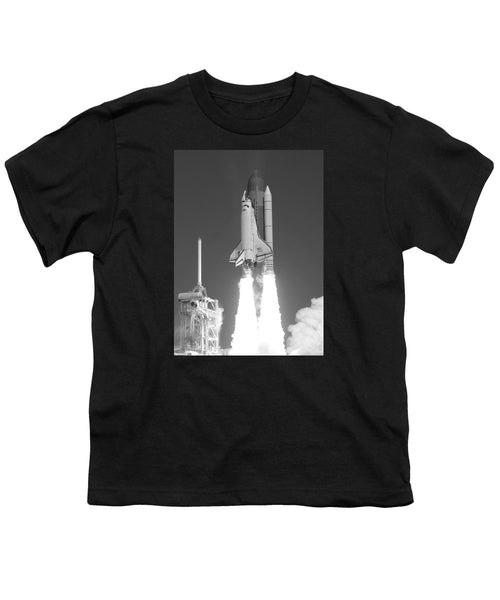 Space Shuttle Atlantis Launch - Youth T-Shirt