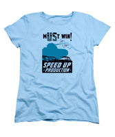Speed Up Production - WW2 - Women's T-Shirt (Standard Fit)