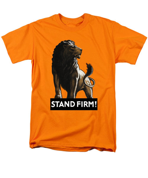 Stand Firm Lion - WW2 - Men's T-Shirt  (Regular Fit)