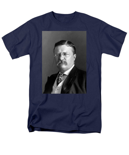 Teddy Roosevelt Portrait - 1904 - Men's T-Shirt  (Regular Fit)