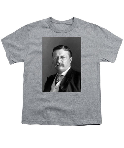 Teddy Roosevelt Portrait - 1904 - Youth T-Shirt