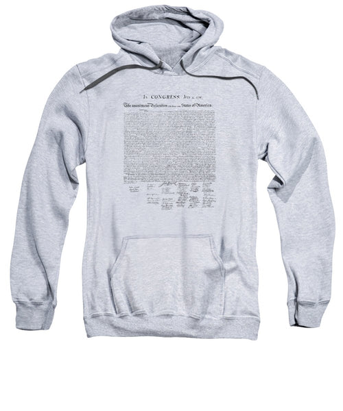 The Declaration Of Independence - Sweatshirt