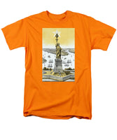 The Statue Of Liberty - Vintage - Men's T-Shirt  (Regular Fit)