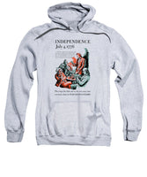 Independence July 4, 1776 - They Kept The Faith - WW2 - Sweatshirt