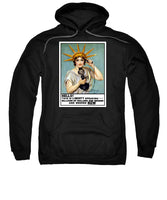 This Is Liberty Speaking - WW1 Propaganda - Sweatshirt