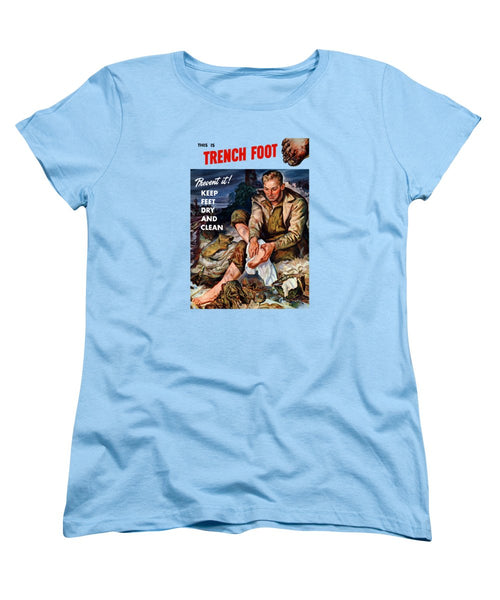 This Is Trench Foot - Prevent It - Women's T-Shirt (Standard Fit)